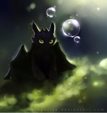 This is a wonderful rendition of Toothless the Dragon by <a href=http://apofiss.deviantart.com/art/toothless-act-paper-292425976>Apofiss on Deviantart.com</a>