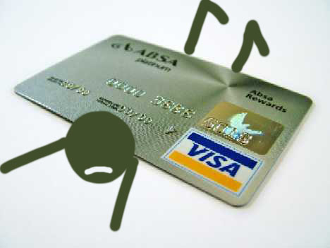 Credit cards are pretty safe, but don't build up debt!